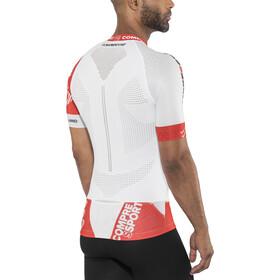 Compressport Trail Running V2 SS Shirt Men White
